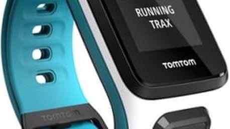 GPS hodinky Tomtom 2 (S) (1RE0.001.03) bílé/modré