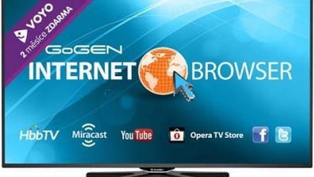 Televize GoGEN TVL 42248 WEB černá