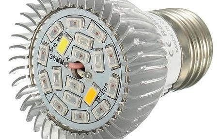 LED světlo pro pěstování rostlin - 18 W