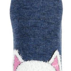 Dámské ponožky s obrázkem modrá
