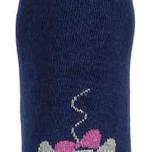 Vysoké ponožky s kočkou růžová