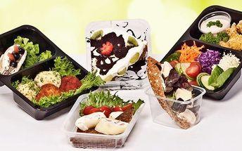 Vyvážené a chutné Fitness Food menu na 5 či 20 dní včetně dopravy