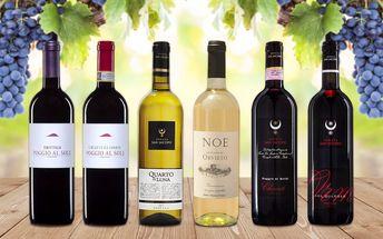 Užijte si chuť Toskánských vín