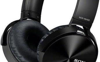 Sony MDR-XB450AP, černá - MDRXB450APB.CE7