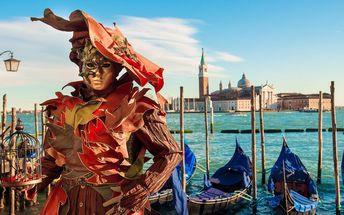 Úchvatný karneval v Benátkách: odjezdy v pondělí