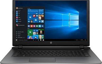 Notebook HP 17-g112nc (P7S88EA#BCM) stříbrný
