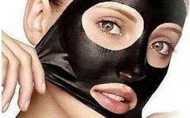 Černá slupovací maska na odstranění černých teček - 5 pytlíčků