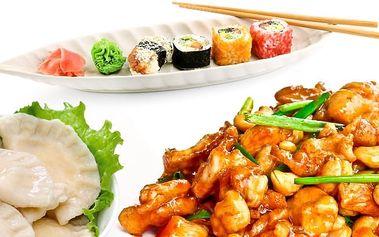 Sleva 30 % na veškeré jídlo v japonské restauraci SaoMai v Praze