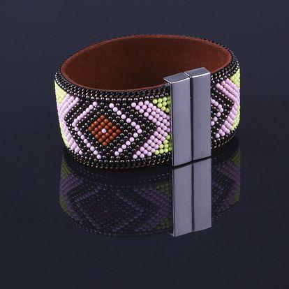 Fashion Icon Náramek etno mexický s magnetickým zapínáním