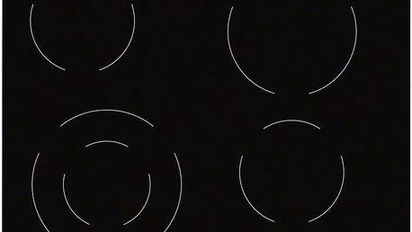 Sklokeramická varná deska Electrolux EHF6241FOK černá/sklo + Doprava zdarma