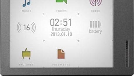 MP3 přehrávač Cowon M2 16GB stříbrný