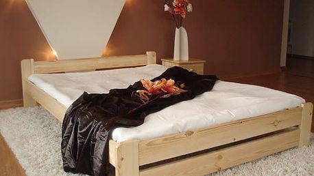 Maxi Drew Euro postel + rošty na výběr AKCE SLEVA 140x200