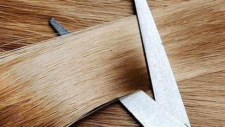 Barva nebo melír, střih, mytí, maska, foukaná, arganový zábal a styling pro všechny délky vlasů.