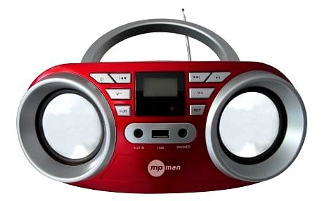 MpMan BOOMBOX 64USB/RED