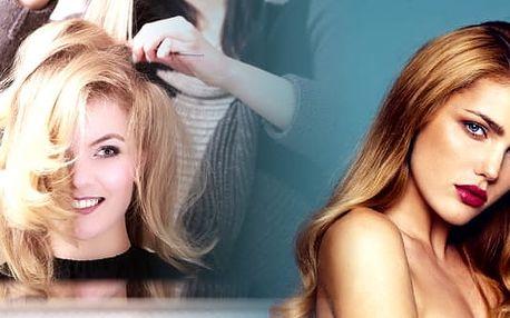 Trvalá ondulace pro všechny délky vlasů + mytí + střih + regenerace + konečný styling v kadeřnictví Lenna.