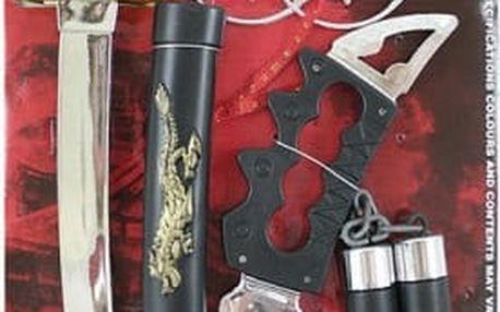 Sada zbraní na karneval Ninja