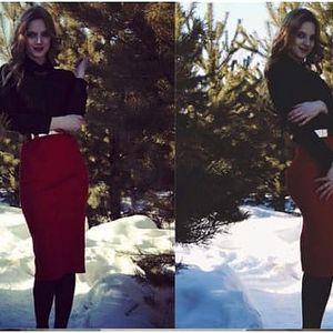 Dámská pouzdrová sukně Michayla