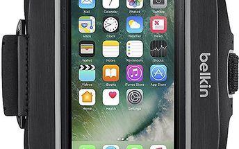 Belkin sportovní pouzdro SportFit plus pro iPhone 7plus, černé - F8W784btC00