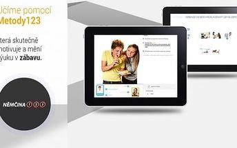 Multimediální online kurz cizích jazyků - Aj, Nj a Fj na 6 či 12 měsíců s obdržením certifikátu