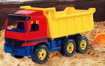 Sklápěcí náklaďák do pokoje i na pískoviště