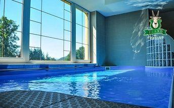 Pieniny s bazénem a wellness