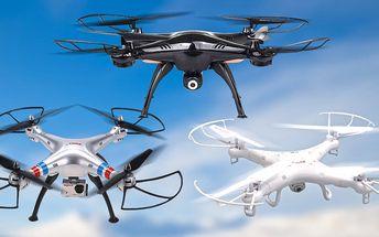Drony s HD kamerou pro začátečníky i pokročilé