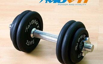MOVIT Profesionální činka 15 kg