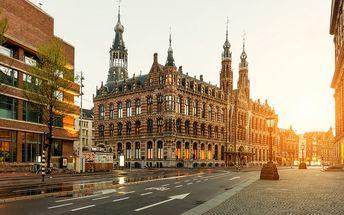 Holandsko: 5denní výlet pro 1 osobu, 2x ubytování se snídaní, termín 21.4.-25.4.2017