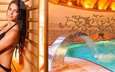 Hotel Piroska**** v lázních Bükfürdö s polopenzí a neomezeným wellness, dítě zdarma