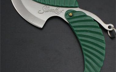 Zavírací kapesní nůž pro přežití List