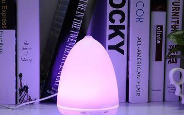 LED aroma zvlhčovač vzduchu měnící barvy
