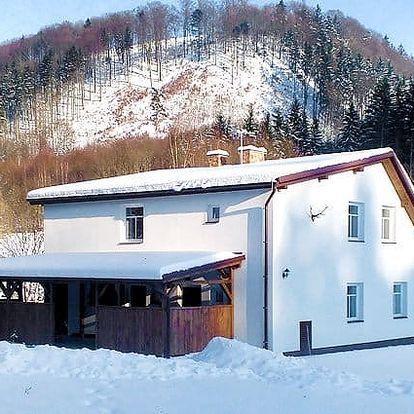 3–4denní pobyt pro 2–4 osoby v apartmánech Hájenka u Adršpašsko-teplických skal