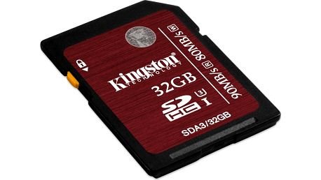 Pamětová karta microSDHC Kingston SDHC 32GB UHS-I Class 3