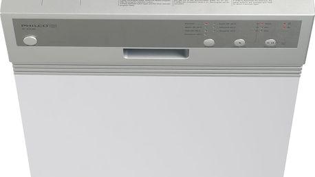 Vestavné myčka nádobí s šířkou 45 cm a čelním panelem Philco PD 1070 BIX + 5 let záruka