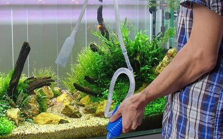 Ruční pumpa na čištění akvarií