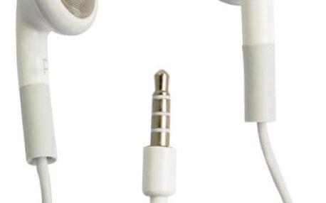 Stereo headset sluchátka s mikrofonem pro iPhone