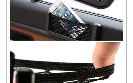 Mini nalepovací síťka do auta - černá - dodání do 2 dnů