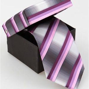 Pánská hedvábná kravata Etienne - VÝPRODEJ