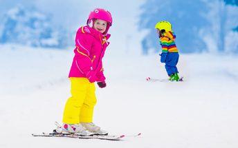 Dětská víkendová lyžařská školka na Božím Daru