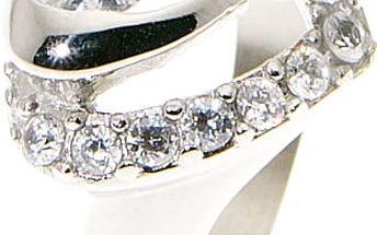 Fashion Icon Prsten se zirkony ve tvaru srdce
