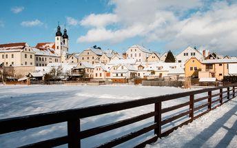 Romantický pobyt v historické Telči s polopenzí