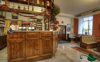 Šumava, Hotel Panský Dům*** zimní či valentýnský pobyt na 3 dny pro dva. Polopenze, sauna a slevy