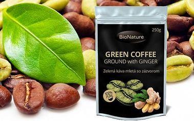 Zelená káva se zázvorem 250 g