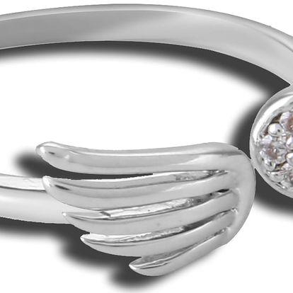 Prsten midi křídla