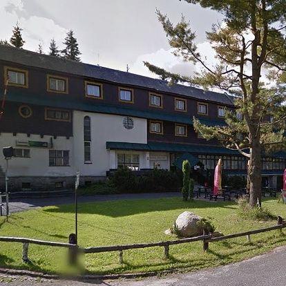 Jizerské hory - Hotel Maxov, pobyt na 3 či 4 dny pro dva nebo rodinu s polopenzí a saunou