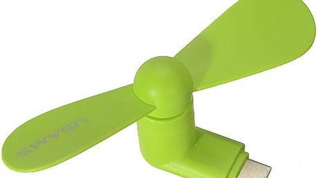 Mini větráček pro mobilní telefony – různé barvy