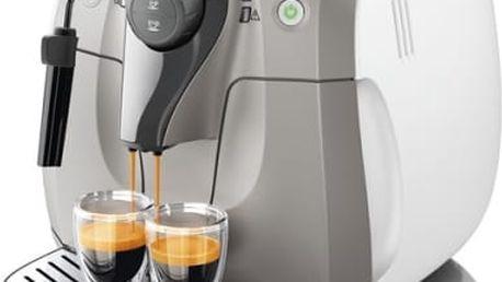 Espresso Philips HD8651/19 bílé/béžové