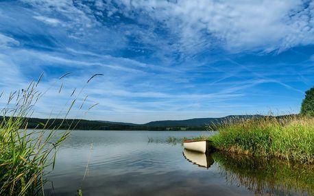 Jaro na Lipně: ubytování u přehrady s polopenzí