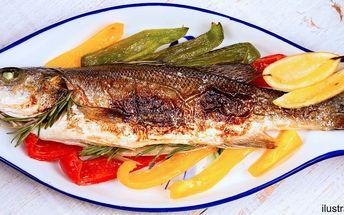 Balkánské menu pro dva: předkrm, ryba a zelenina