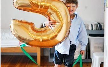 Narozeninové balonky Čísla